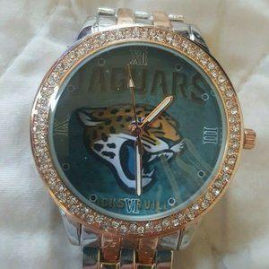 Jacksonville Jaguars NFL Womens Luxury Watch